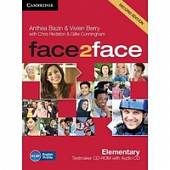 CD-ROM. Face2face Elementary (+ Audio CD)