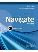 Navigate: Elementary A2: Workbook (+ Audio CD)