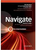 Navigate: Pre-Intermediate B1: Teacher's Guide with Teacher's Support (+ Audio CD)